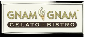 Gnam Gnam Gelato Logo